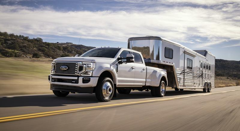 2020 F Series Super Duty Promises To Offer Highest Towing
