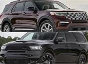 2020 Ford Explorer vs 2019 Dodge Durango - image 824959