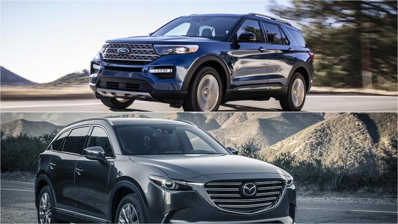 2020 Ford Explorer vs 2019 Mazda CX-9