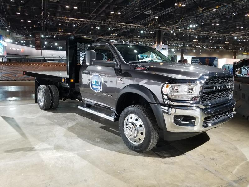 2020 Ram Chassis Cab Brings a New Generation of Work Trucks to Chicago