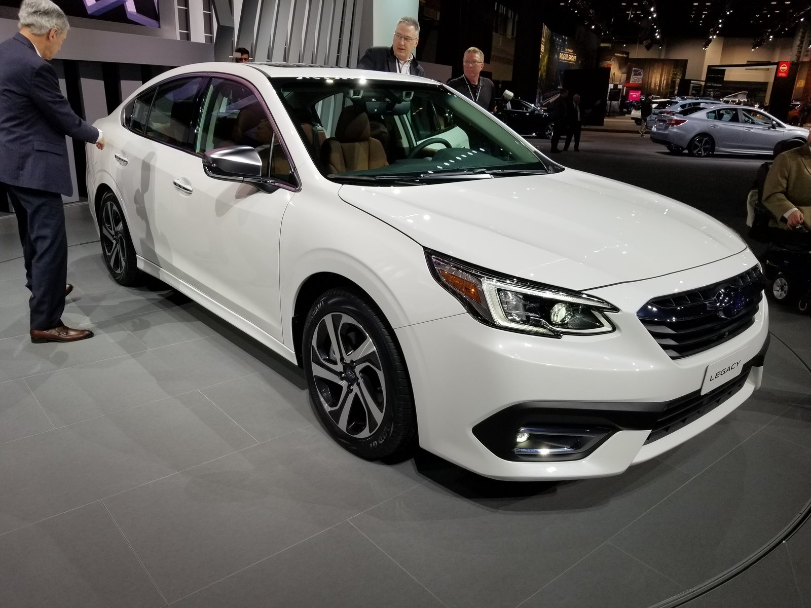 2020 Subaru Legacy Brings New Engine And Tech To Chicago