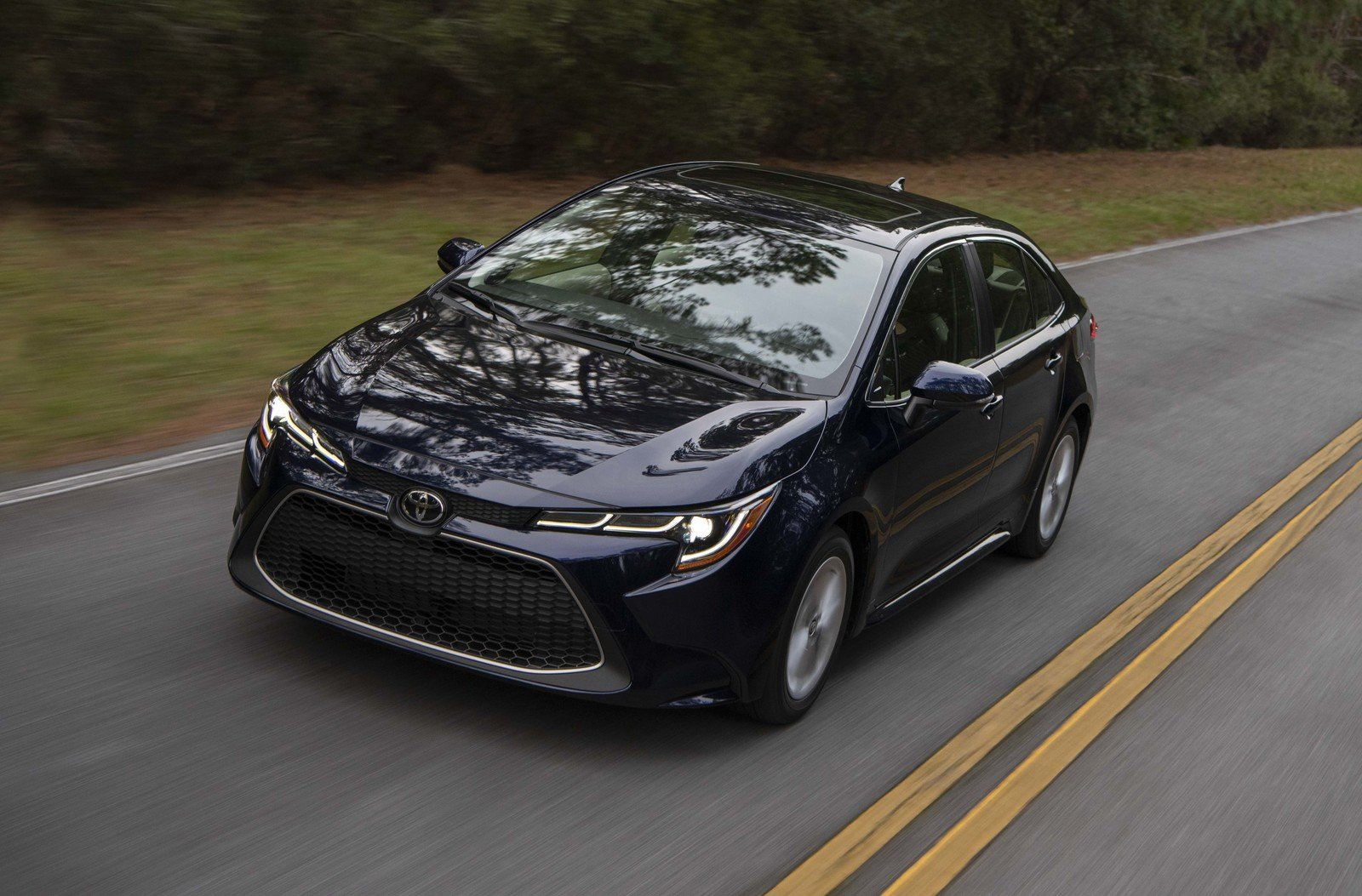The 2020 Toyota Corolla Sedan Sets The Standard For Safety
