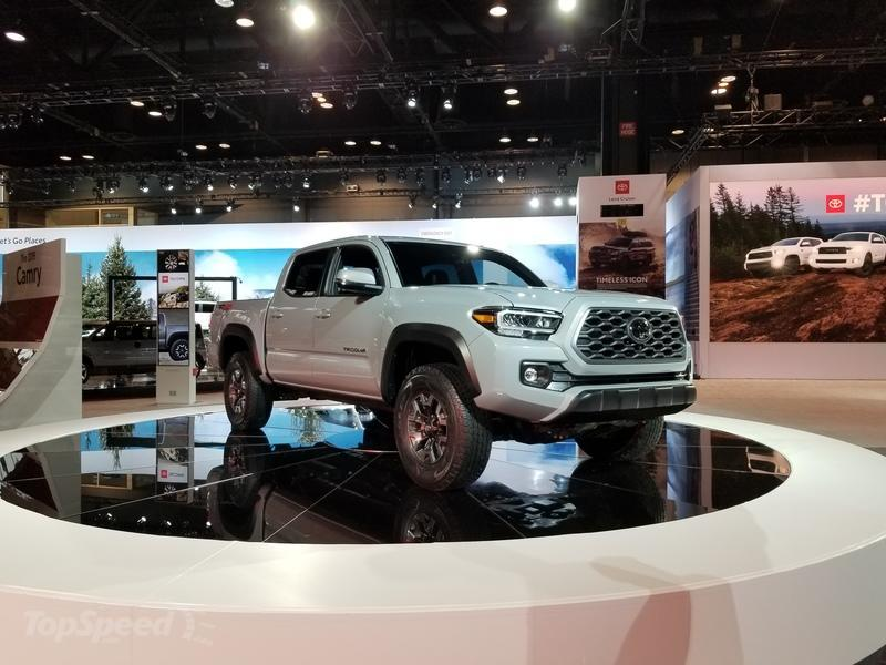 2020 Toyota Tacoma Arrives At Chicago With New Features And Mild Visual Updates