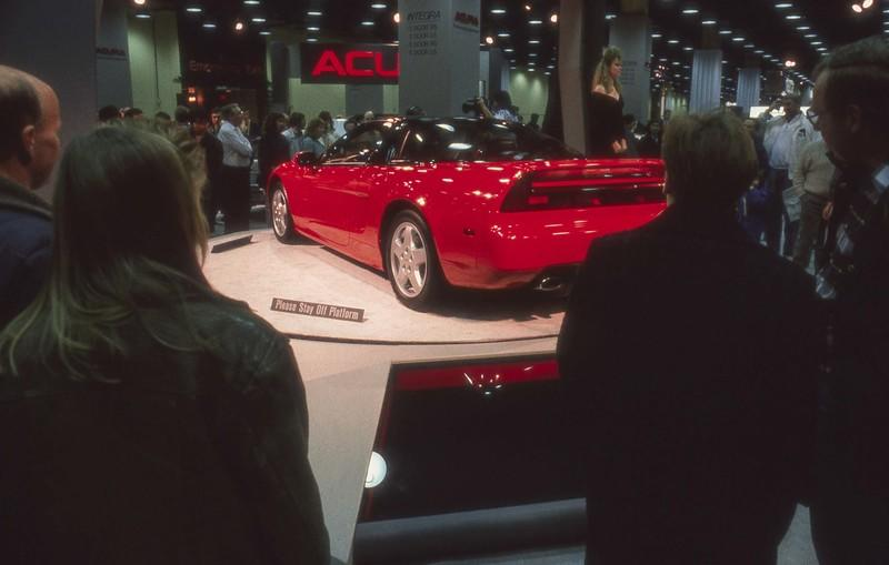 Acura Marks 30 Years Since The NSX Prototype Debuted At The Chicago Auto Show