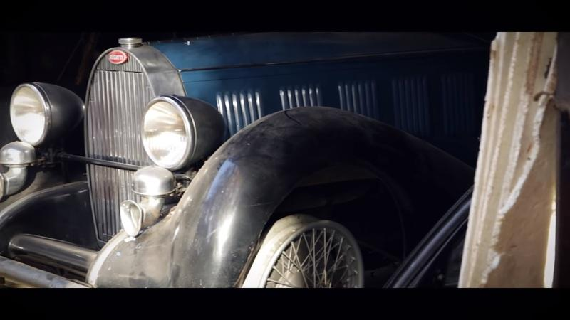 Amazing Bugatti collection discovered in poverty-stricken family's barn