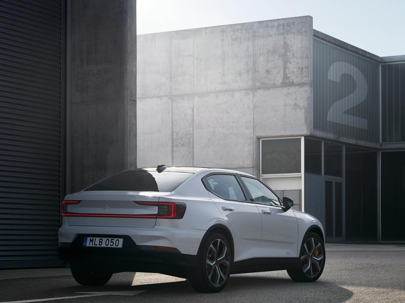 Polestar Takes Aim at Tesla Model 3 With 408-Horsepower Polestar 2
