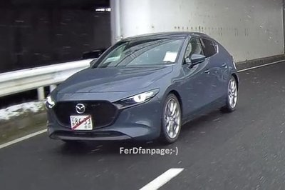 Is This the 2020 Mazda CX-4 That was Teased for the 2019 Geneva Motor Show?