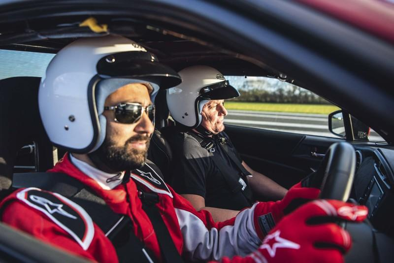 Blind Driver Gets To Drive Around Top Gear's Test Track