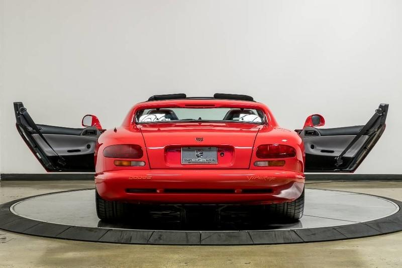 Car for Sale: 1992 Dodge Viper with Just 34 Miles on the Clock