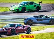 Clash of the Track-Focused Giants: Ferrari 488 Pista vs McLaren 600LT vs Porsche 911 GT3 RS - image 824512