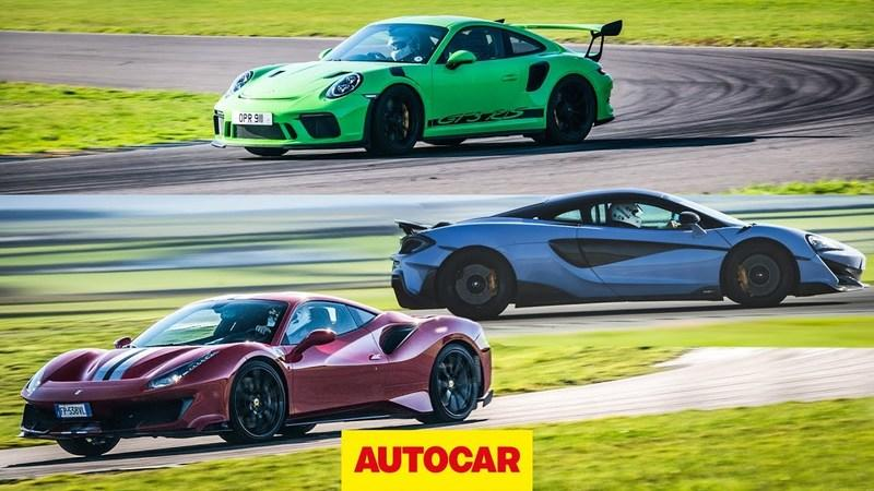 Clash of the Track-Focused Giants: Ferrari 488 Pista vs McLaren 600LT vs Porsche 911 GT3 RS