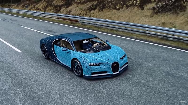 Details Of the Full-Scale LEGO Bugatti Chiron Are Incredible