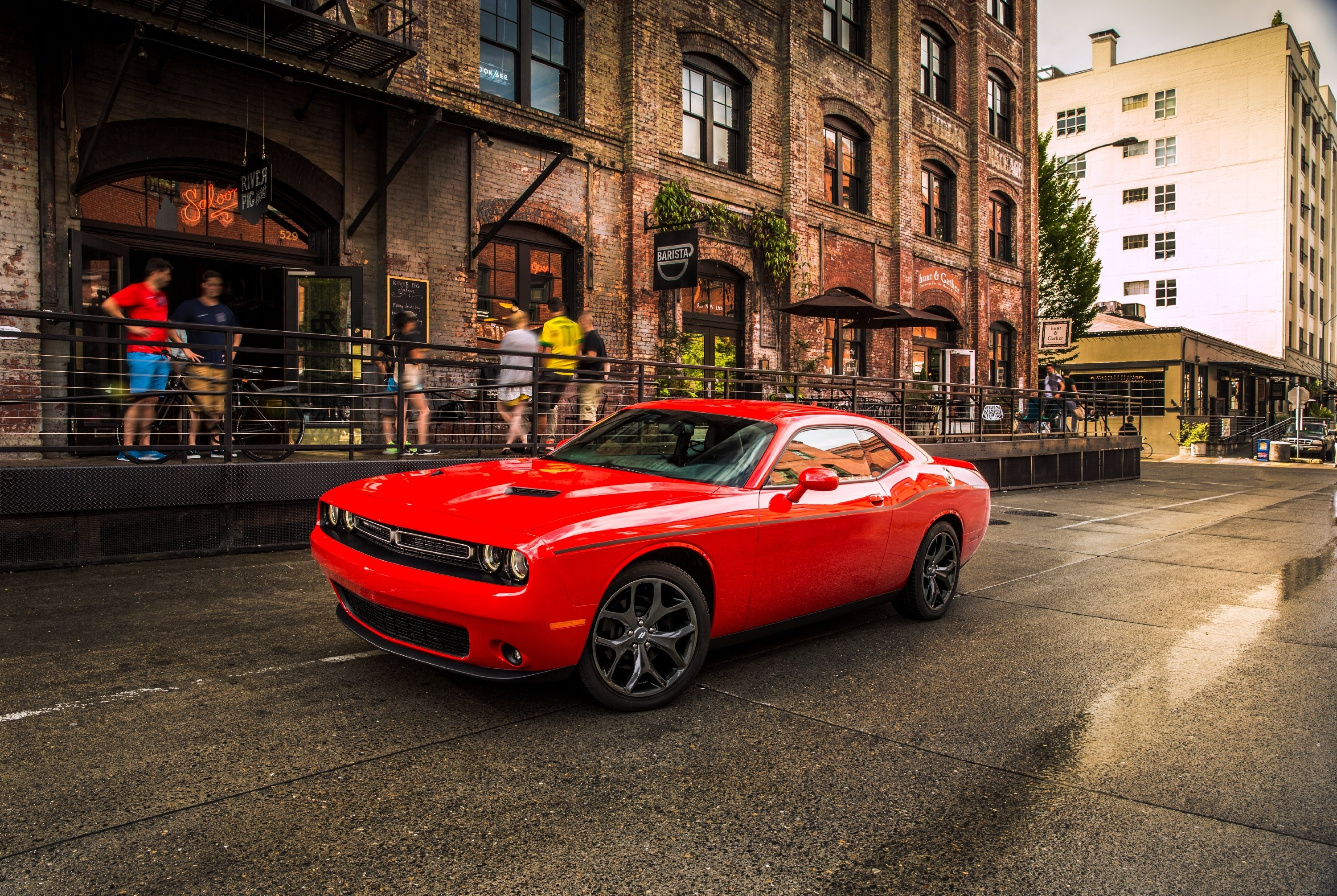 Dodge reintroduced the Challenger nameplate in 2008 with a brand-new third  generation. Now a95ba5187
