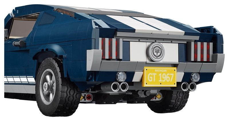 Lego Offers Classic 1967 Ford Mustang Kit to Fulfill Your Pony Car Dreams - image 824917