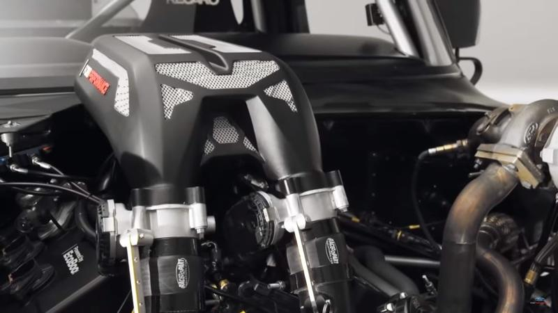 Here's How Ford Performance 3D-Printed the Intake Manifold for Ken Block's Hoonitruck