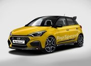 The 2020 Hyundai i20 Will Hit the Market to Take on the Ford Fiesta ST and Renault Clio RS - image 823377