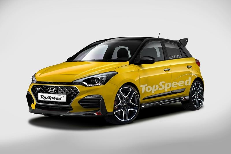 The 2020 Hyundai i20 Will Hit the Market to Take on the Ford Fiesta ST and Renault Clio RS