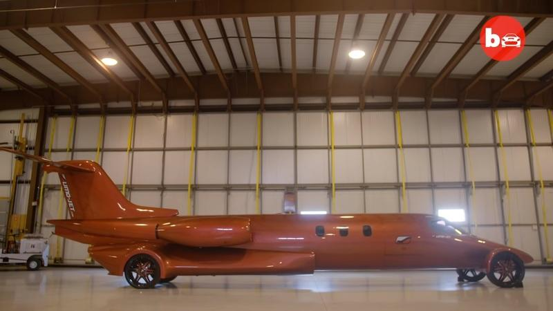 Is this $5-Million Learjet Limo Worth Buying or Just Downright Stupid?