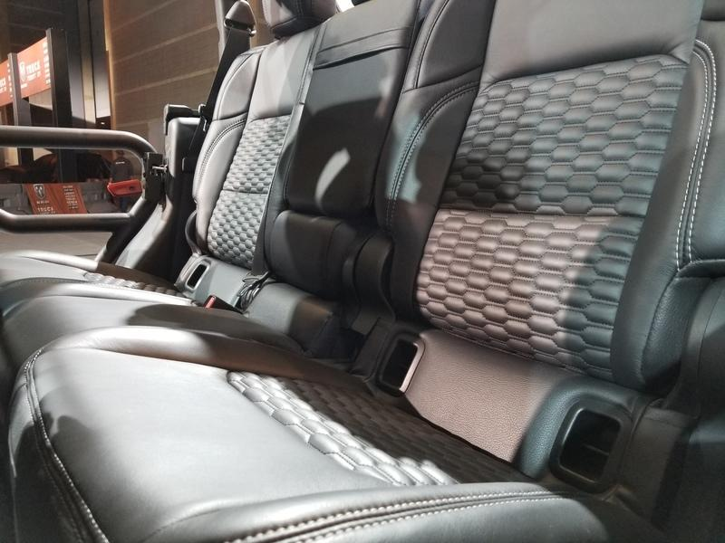 Jeep Gladiator Goes Fancy with Katzkin Leather in Chicago