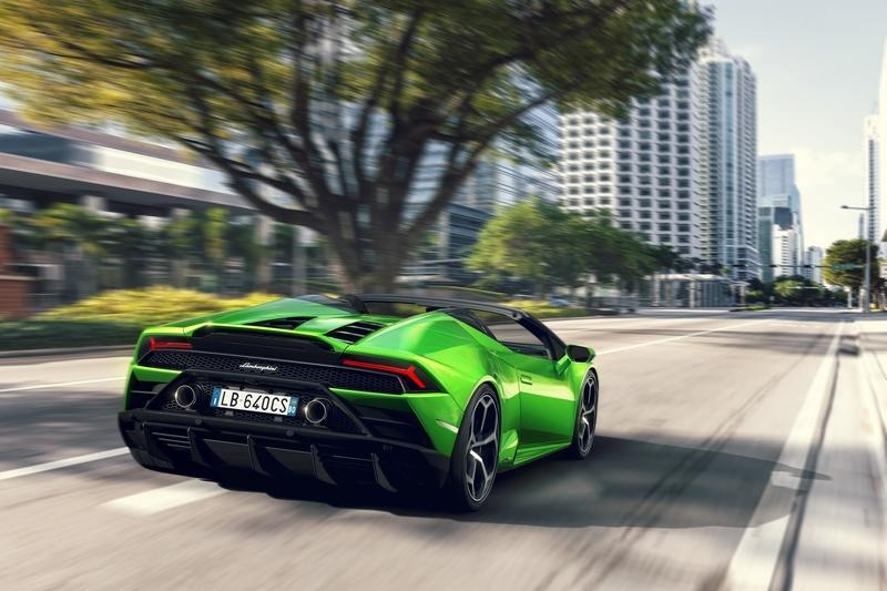 The 2019 Lamborghini Huracán EVO Spyder Drops Its Top Before Geneva