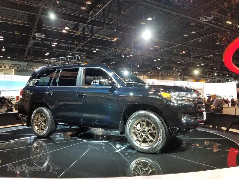 2019 Toyota Land Cruiser Heritage Edition Combines Off-Roading Prowess and Exclusive Luxury In Chicago