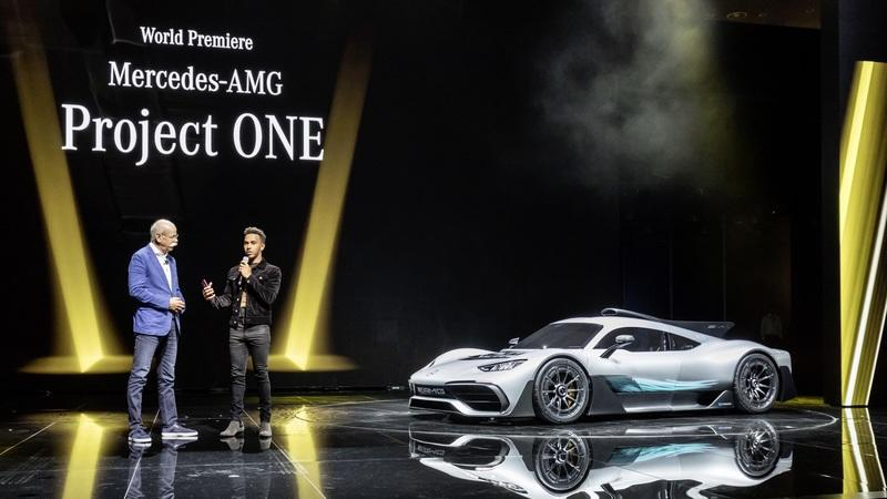 Lewis Hamilton Wants His Own Special Edition AMG ONE