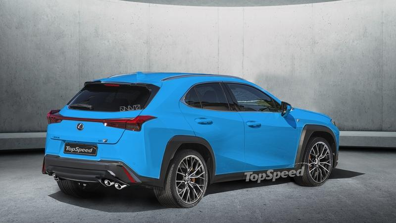 A Hot Lexus UX F Crossover Could Be in the Works - Here's What it Will Look Like