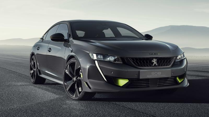 2019 Peugeot 508 Sport Engineering Concept