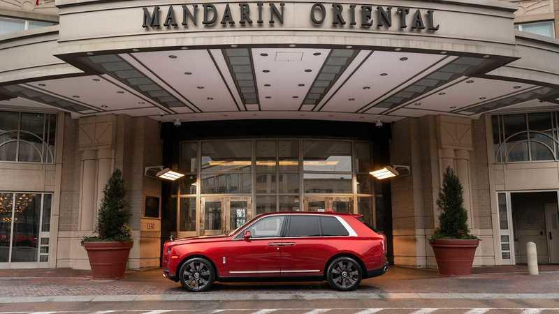 Rolls-Royce's Collaboration with The Mandarin Oriental Hotel Chain is a Celebration of The Chinese New Year