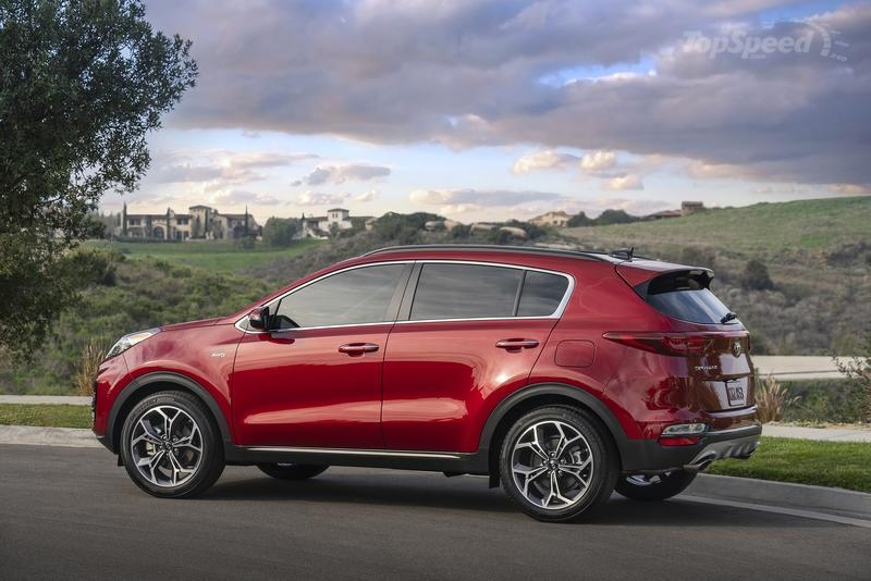 2020 Kia Sportage Top Speed