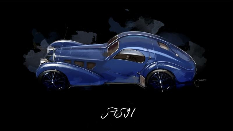 The $18-Million, One-Off Hypercar That Bugatti is Bringing to Geneva Could Be a Modern-Day Take on the Iconic 57 SC Atlantic - image 826075