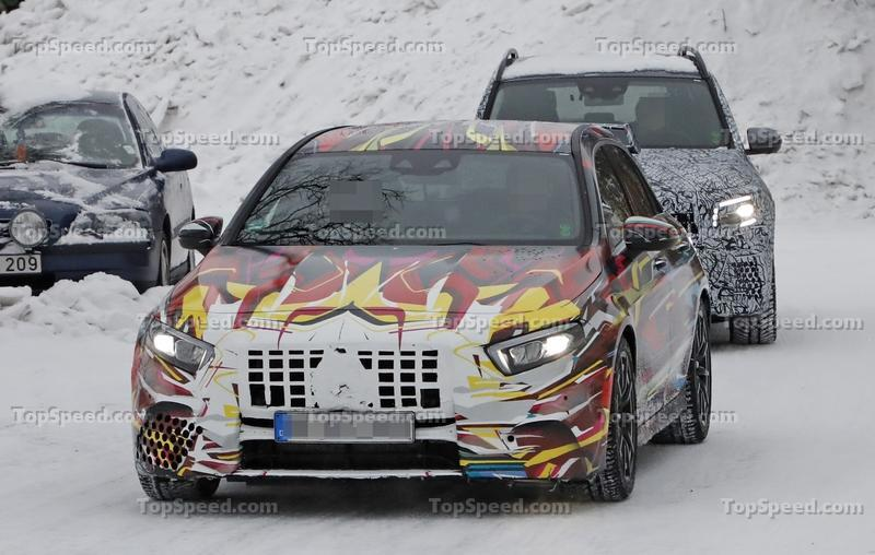 The Geneva-Bound 2020 Mercedes-AMG A45 Could Eclipse 400 Horsepower Exterior Spyshots - image 824908