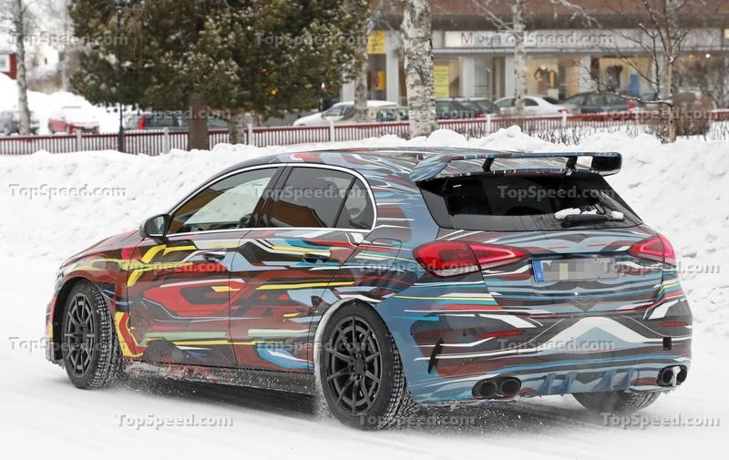 The Geneva-Bound 2020 Mercedes-AMG A45 Could Eclipse 400 Horsepower Exterior Spyshots - image 824897