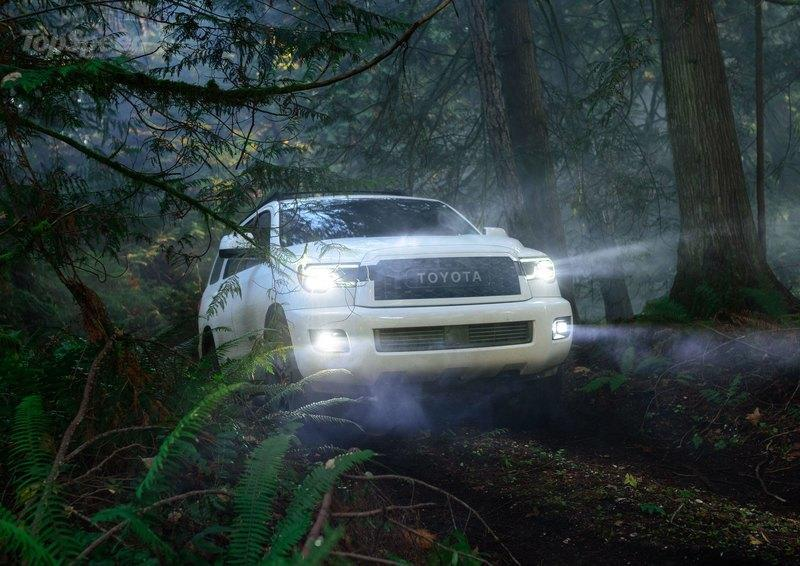 The 'TRD Pro' that Toyota Teased Is The Age-Old Sequoia!
