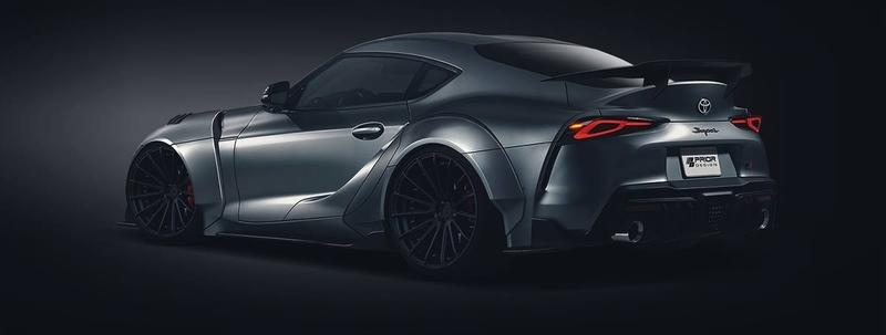 This Rendering From Prior Design Represents the Future of Supra Tuning - image 819582