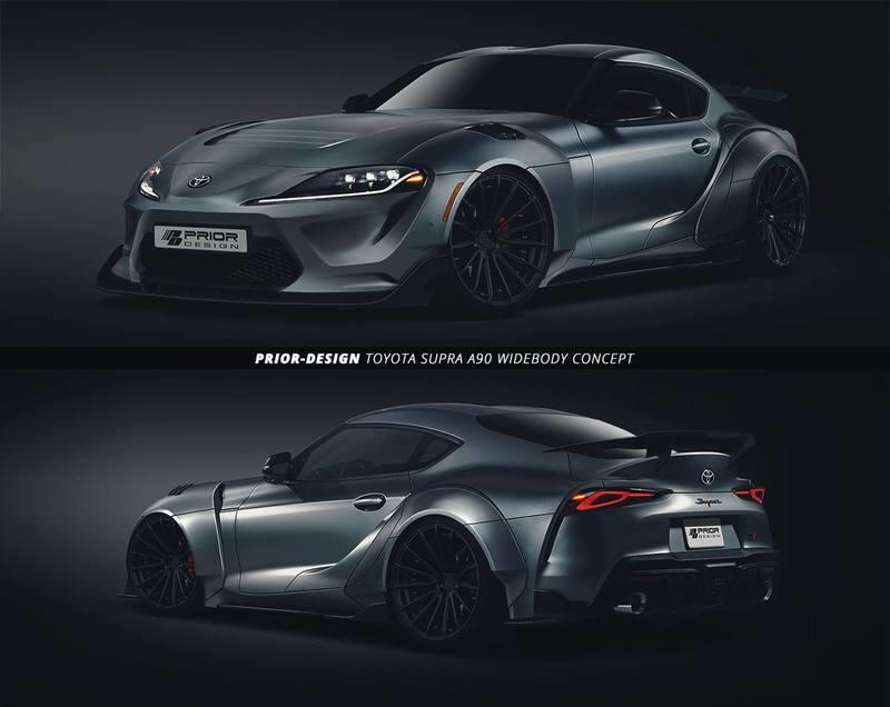 This Rendering From Prior Design Represents the Future of Supra Tuning