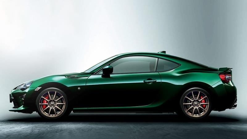2019 Toyota 86 British Green Limited Edition