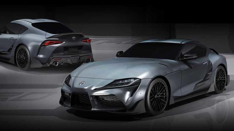 The 2019 Toyota Supra TRD Performance Concept Debuts in Japan