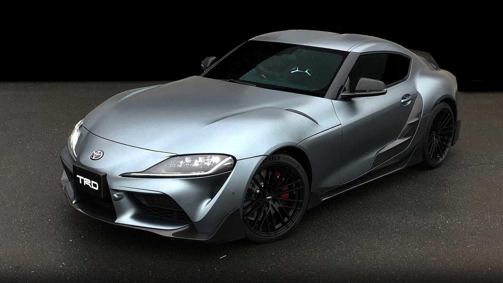 The 2019 Toyota Supra Trd Performance Concept Debuts In