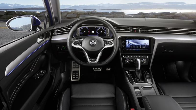 Volkswagen gives 2019 Passat for Europe its midlife nip and tuck