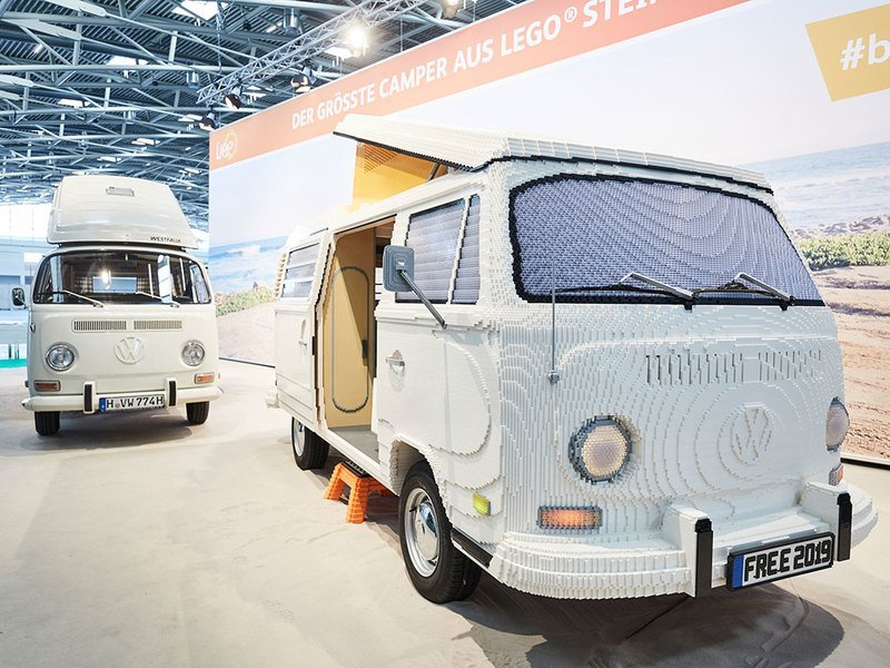 Volkswagen Presents Lego T2 Camper Van And We're Already Dreaming Of A Life-Sized Lego World