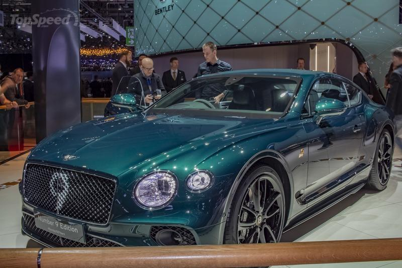 2019 Bentley Continental GT Number 9 Edition by Mulliner