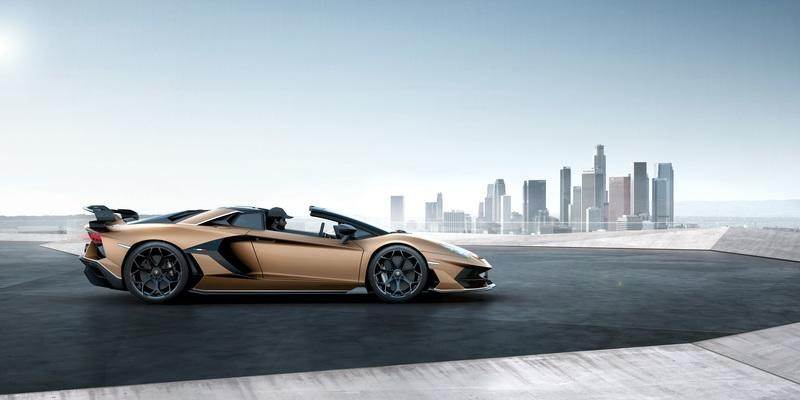 The 2020 Lamborghini Aventador SVJ Roadster is Just a Hair Heavier and A Hair Slower than the SVJ Coupe