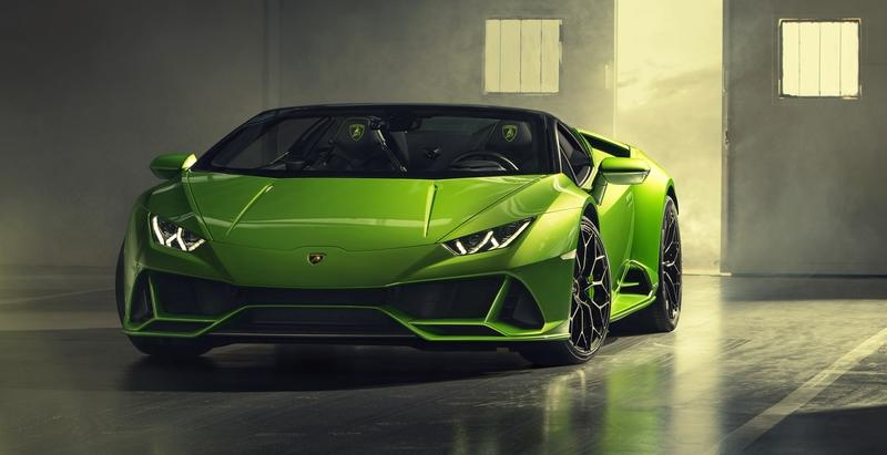 2019 Lamborghini Huracan Evo Spyder Top Speed