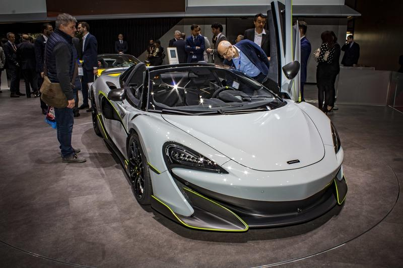 2019 McLaren 600LT Spider by MSO