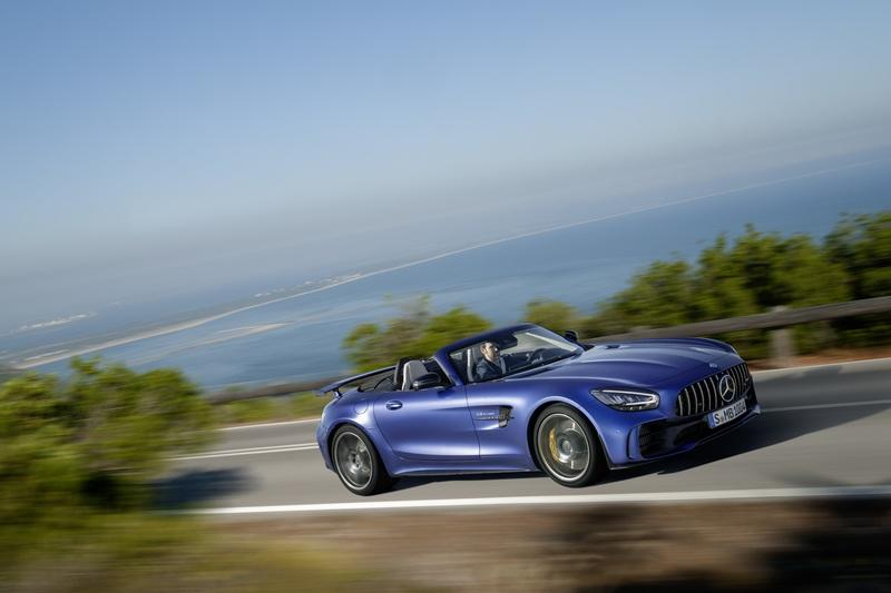 The Mercedes-AMG GT R Roadster is the Ultimate but Limited Open-Air AMG Sports Car Exterior - image 826892