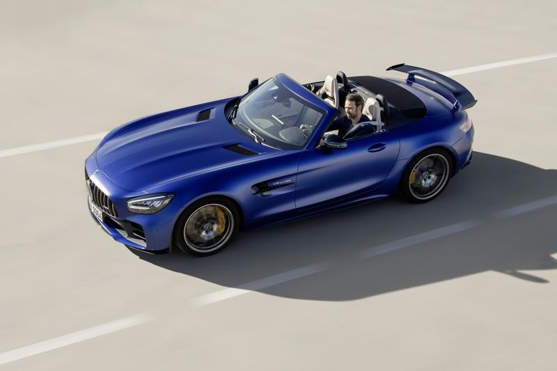The Mercedes-AMG GT R Roadster is the Ultimate but Limited Open-Air AMG Sports Car Exterior - image 826898