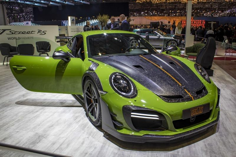 2019 Porsche 911 Turbo S GTstreet RS by TechArt
