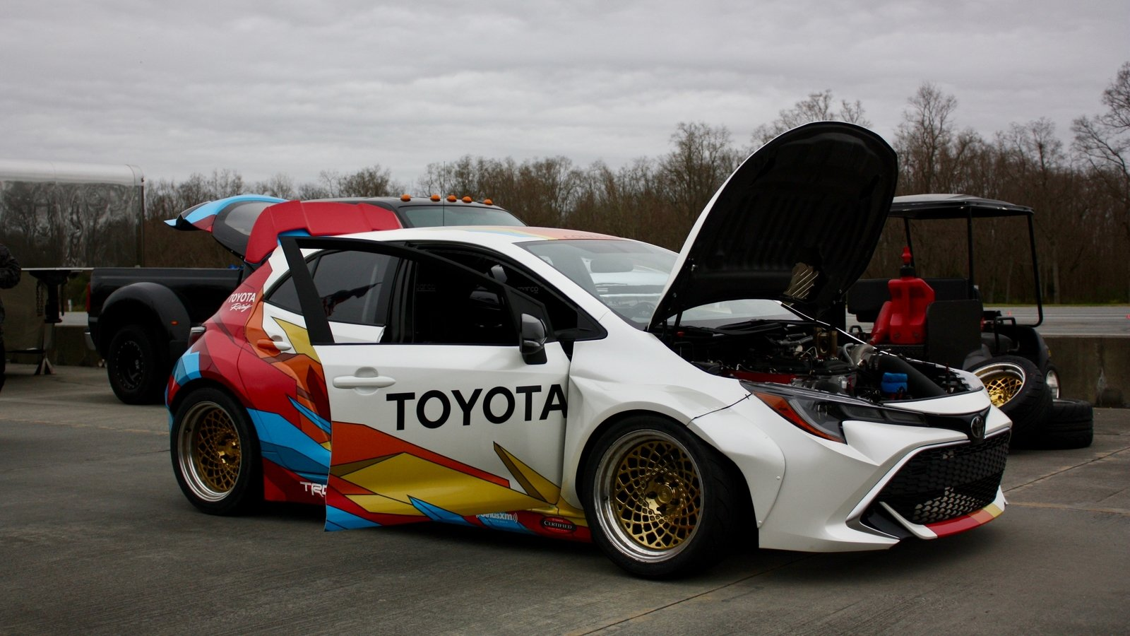 2019 Papadakis Racing Toyota Corolla Hatch Formula Drift ...