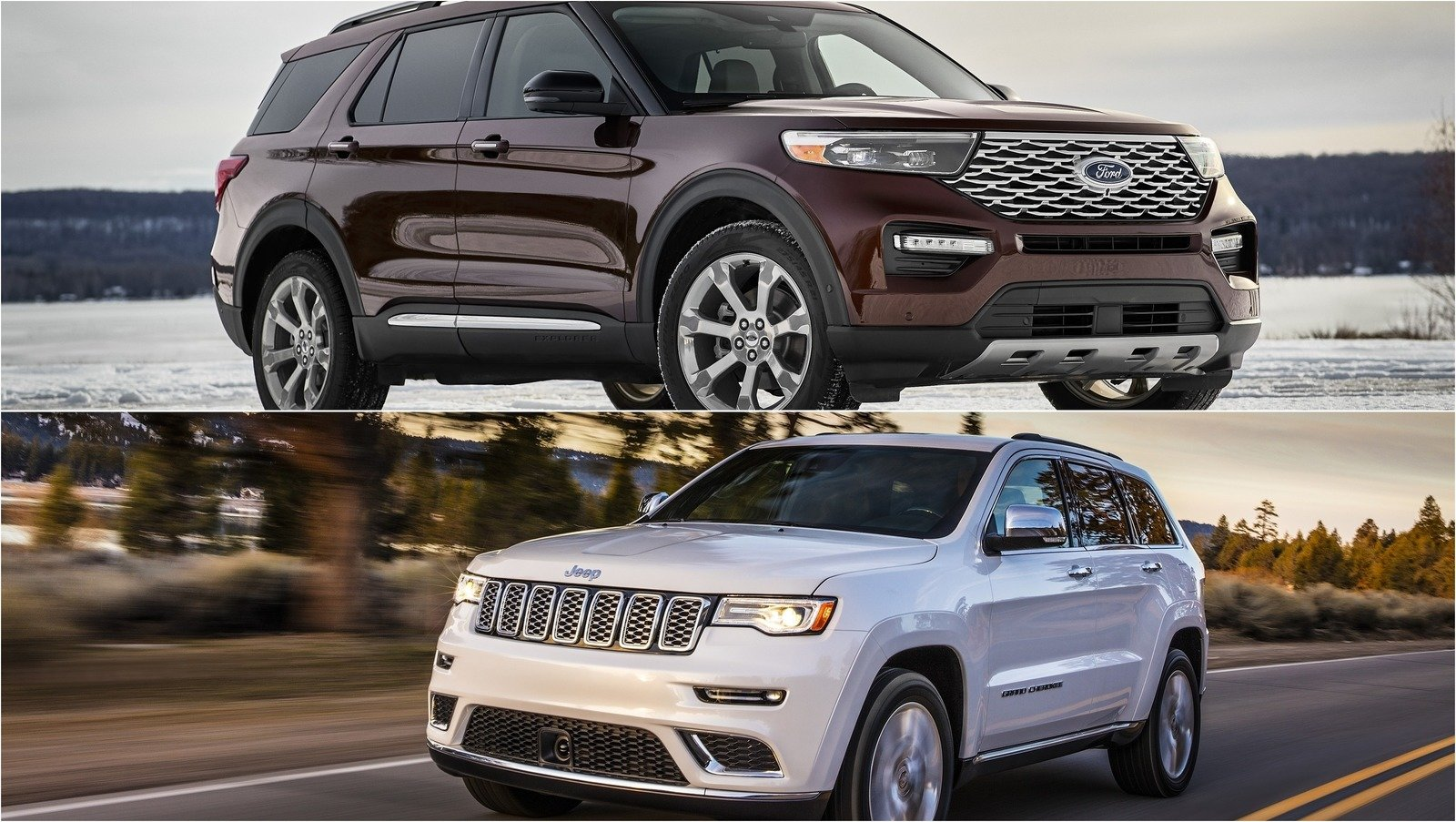 2020 Ford Explorer Vs 2019 Jeep Grand Cherokee | Top Speed